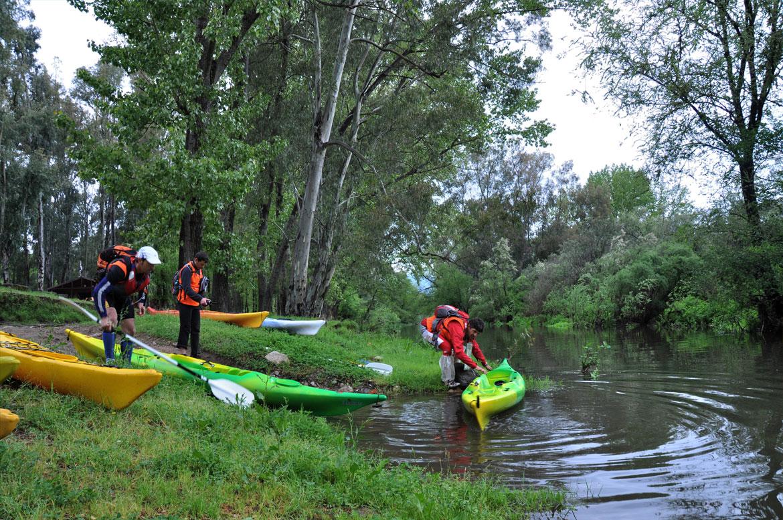 Kayak fiume cedrino