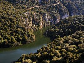 Territorio - Il fiume Cedrino